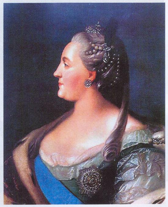 Императрица екатерина ii портрет